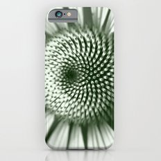 Black and White Flower Core iPhone 6s Slim Case