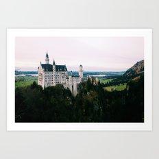 neuschwanstein castle bavaria germany  Art Print
