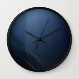 Fields Highlighted by Sunlight Pisang Wall Clock