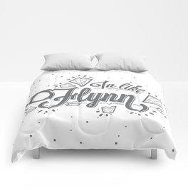 In Like Flynn Comforters