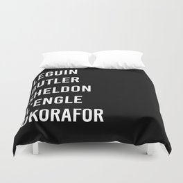WOMEN OF SCI FI Duvet Cover