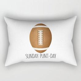 Sunday Punt-day Rectangular Pillow