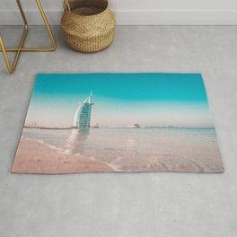 Burj Al Arab Jumeirah Beach, Dubai Rug