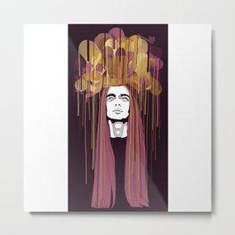 Embellish 8 Metal Print