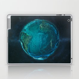 Globe: Relief Atlantic Laptop & iPad Skin