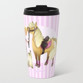 Horse rider / Cavalière Travel Mug