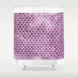 Rose Trellis Pattern Shower Curtain