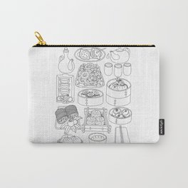 Sunday Dim Sum - Line Art Carry-All Pouch