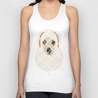 golden Tank Tops featuring Golden by SaveTheDogs.es