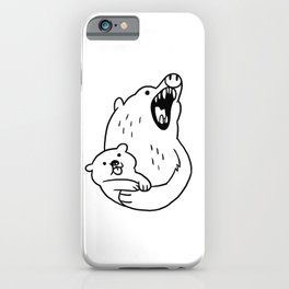 LOOK HOW CUTE! iPhone Case