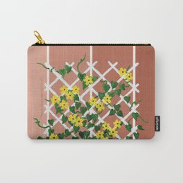 Black-Eyed Susans on Browns Carry-All Pouch