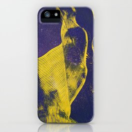Freedom of petrels #waves #abstract #flow iPhone Case