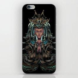 aquarian queen iPhone Skin
