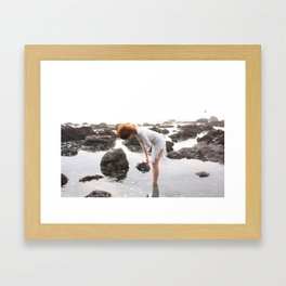 Salt Framed Art Print