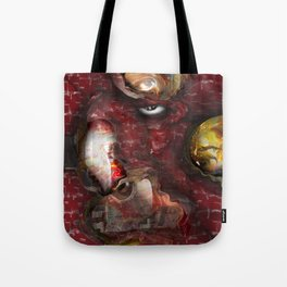 FireHouse red Tote Bag