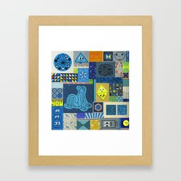 Oh little one, you are a Brilliant Star Framed Art Print