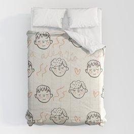 Oh la alegría llegó Comforters