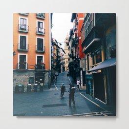 Plaza de Castillo Metal Print