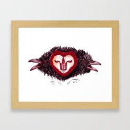 sangre de la vida Framed Art Print