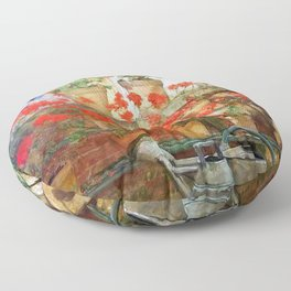 Frederick Childe Hassam - Hyde Collection - Digital Remastered Edition Floor Pillow