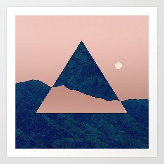 Triangle - Opposite Art Print