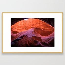 Smooth Move in Arizona Framed Art Print
