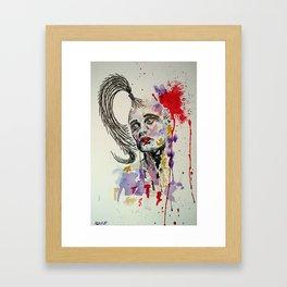 Lyme_Brain Framed Art Print