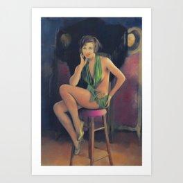 Fanny Brice, Vintage Actress Art Print