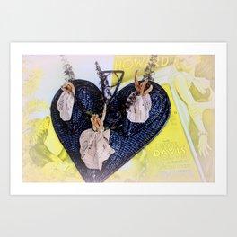Calling A Spade A Heart Art Print