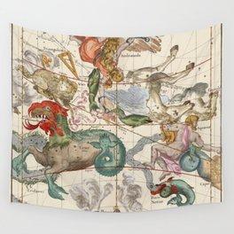Vintage Constellation Map - Star Atlas Wall Tapestry