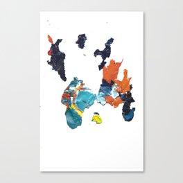 paint shirt Canvas Print