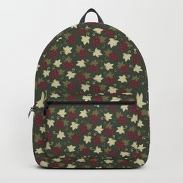 Sweet Grapevine on Forest Green Backpack