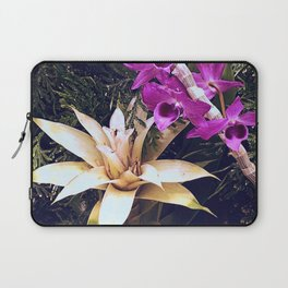 Orchids and Bromeliad Laptop Sleeve
