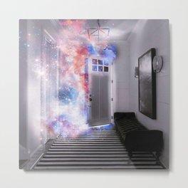 Door of the Galaxy Metal Print