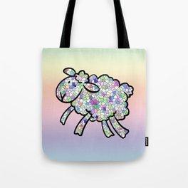 Mosaic Lamb Tote Bag