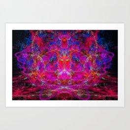 Fire Breather (Lava Breath) Art Print