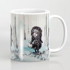 Hedgehog in the fog Mug
