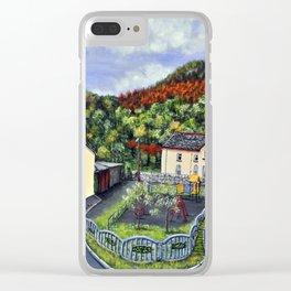 Ynysddu Clear iPhone Case
