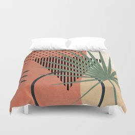 Nature Geometry II Duvet Cover