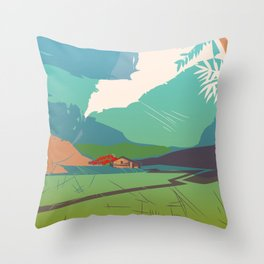 Casa de campo Throw Pillow