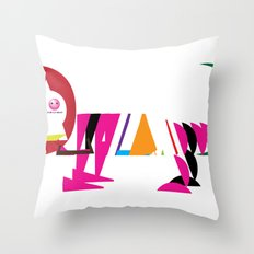 David Nuh Omar's Lion (LION) Throw Pillow