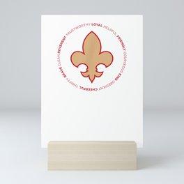 Scout Law Mini Art Print