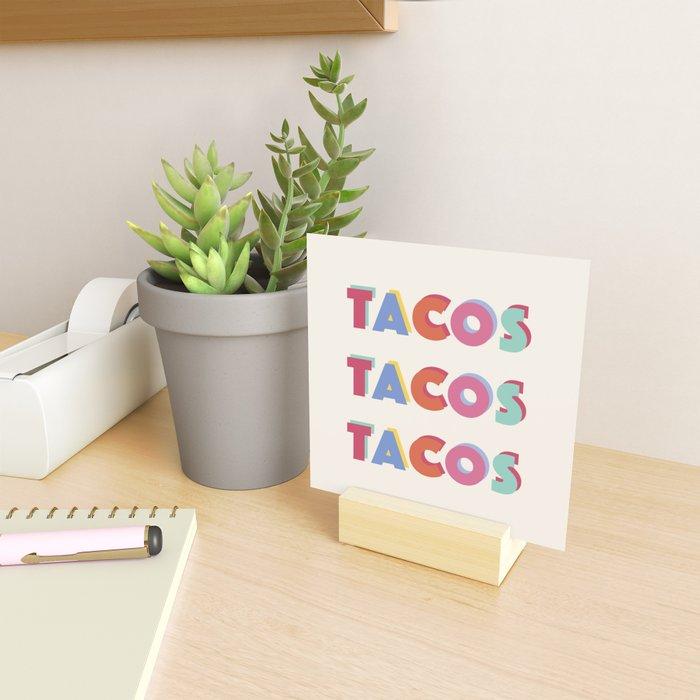Taco Bout a Party! Mini Art Print