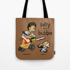 Sally and Bubba Tote Bag