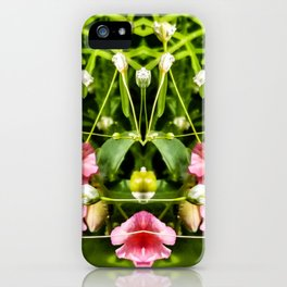 Flowers and Baby's Breath Too iPhone Case