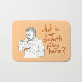 Charlie Kelly - Spaghetti Policy Bath Mat