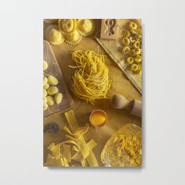Yellow - the colors of food Metal Print