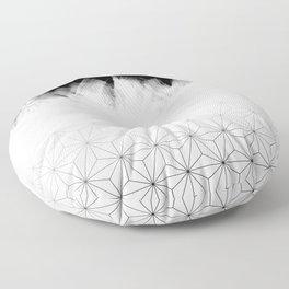 Christmas Geometric Pattern Floor Pillow