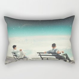 You Were There, in my Deepest Silence Rectangular Pillow
