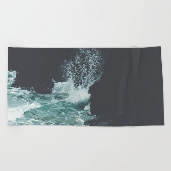 The Dark Coast Beach Towel